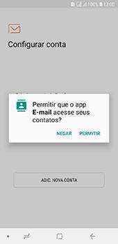 Como configurar seu celular para receber e enviar e-mails - Samsung Galaxy J6 - Passo 5