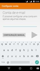 Como configurar seu celular para receber e enviar e-mails - Motorola Moto G (2ª Geração) - Passo 6