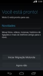 Como configurar pela primeira vez - Motorola Moto G (1ª Geração) - Passo 9