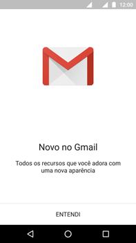Como configurar seu celular para receber e enviar e-mails - Motorola Moto G (4ª Geração) - Passo 4