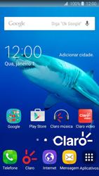 Como ativar e desativar o modo avião no seu aparelho - Samsung Galaxy J2 Duos - Passo 1
