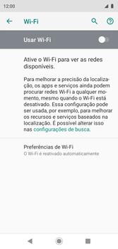 Como configurar uma rede Wi-Fi - Motorola Moto G7 Play - Passo 5