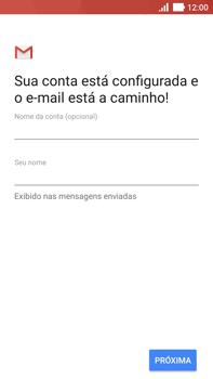 Como configurar seu celular para receber e enviar e-mails - Asus ZenFone 3 - Passo 12