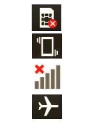 Explicação dos ícones - LG Optimus L3 II - Passo 1