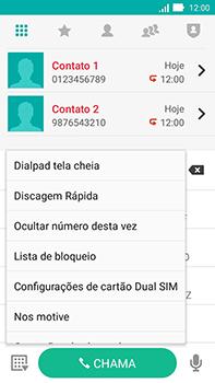 Como bloquear chamadas de um número específico - Asus ZenFone Go - Passo 6