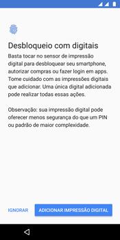 Como configurar pela primeira vez - Motorola Moto G6 Plus - Passo 14