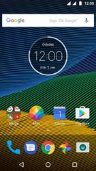 Como configurar seu celular para receber e enviar e-mails - Motorola Moto G5 - Passo 1