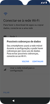 Como configurar pela primeira vez - Motorola Moto G7 - Passo 9