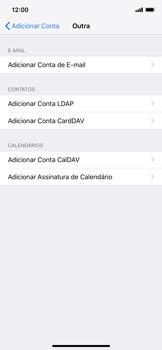 Como configurar seu celular para receber e enviar e-mails - Apple iPhone XR - Passo 6