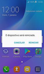 Como reiniciar o aparelho - Samsung Galaxy J1 - Passo 4