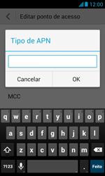 Como configurar a internet do seu aparelho (APN) - Huawei Y340 - Passo 13