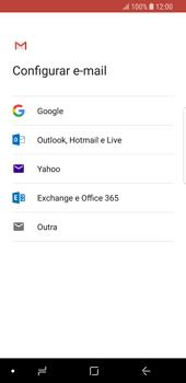 Como configurar seu celular para receber e enviar e-mails - Samsung Galaxy S9 - Passo 8