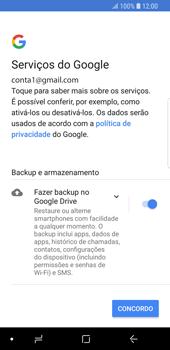 Como configurar seu celular para receber e enviar e-mails - Samsung Galaxy S9 - Passo 12