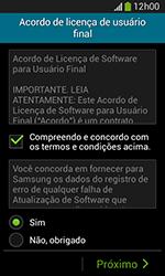 Como configurar pela primeira vez - Samsung Galaxy Grand Neo - Passo 7