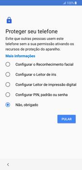 Como configurar pela primeira vez - Samsung Galaxy S9 - Passo 14
