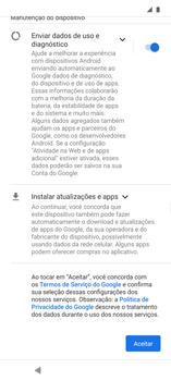 Como configurar pela primeira vez - Motorola Edge - Passo 7