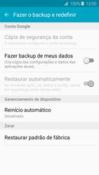 Como restaurar as configurações originais do seu aparelho - Samsung Galaxy J2 Duos - Passo 5
