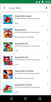 Como baixar aplicativos - Motorola Moto G6 Play - Passo 14