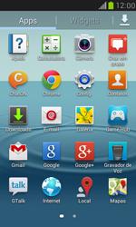 Como ativar e desativar o modo avião no seu aparelho - Samsung Galaxy S III Mini - Passo 2