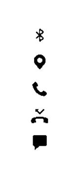Explicação dos ícones - Samsung Galaxy A50 - Passo 14