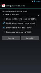 Como configurar seu celular para receber e enviar e-mails - Motorola RAZR MAXX - Passo 17