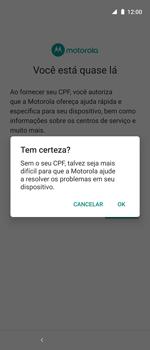 Como ativar seu aparelho - Motorola One Action - Passo 15