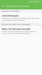 Como bloquear chamadas de um número específico - Samsung Galaxy S7 - Passo 7