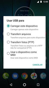 Como transferir arquivos do computador (Windows) para seu aparelho - Motorola Moto G5s Plus - Passo 4