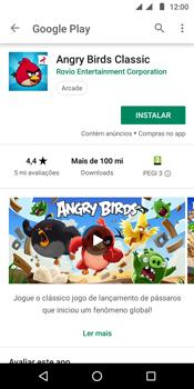 Como baixar aplicativos - Motorola Moto G6 Play - Passo 15