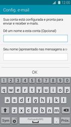 Como configurar seu celular para receber e enviar e-mails - Samsung Galaxy S5 - Passo 17
