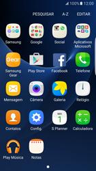 Como configurar uma rede Wi-Fi - Samsung Galaxy S7 Edge - Passo 2