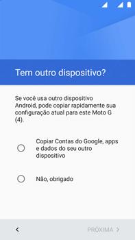 Como configurar pela primeira vez - Motorola Moto G (4ª Geração) - Passo 12
