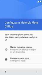 Como configurar pela primeira vez - Motorola Moto C Plus - Passo 6
