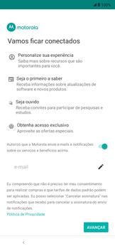 Como ativar seu aparelho - Motorola Moto E6 Plus - Passo 13