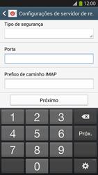 Como configurar seu celular para receber e enviar e-mails - Samsung Galaxy S IV - Passo 10