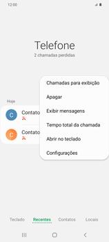 Como bloquear chamadas de um número específico - Samsung Galaxy S20 Plus 5G - Passo 6