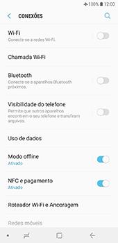 Como ativar e desativar o modo avião no seu aparelho - Samsung Galaxy J6 - Passo 5