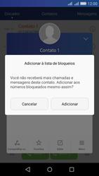 Como bloquear chamadas de um número específico - Huawei Y6 - Passo 6