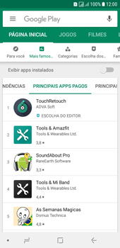 Como baixar aplicativos - Samsung Galaxy J6 - Passo 9