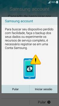 Como configurar pela primeira vez - Samsung Galaxy Note - Passo 13