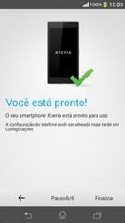 Como ativar seu aparelho - Sony Xperia SP - Passo 9
