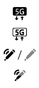 Explicação dos ícones - Samsung Galaxy Note 20 5G - Passo 14
