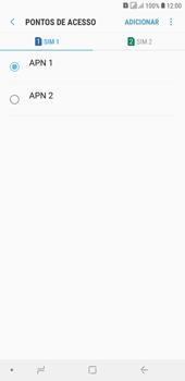 Como configurar a internet do seu aparelho (APN) - Samsung Galaxy J4+ - Passo 16