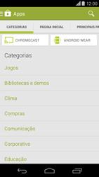 Como baixar aplicativos - Motorola Moto X (2ª Geração) - Passo 5