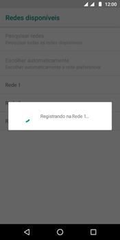 Como selecionar o tipo de rede adequada - Motorola Moto G6 Play - Passo 10