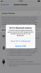 Como usar seu aparelho como um roteador de rede Wi-Fi - Apple iPhone 7 - Passo 6