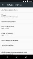 Como encontrar o número de IMEI do seu aparelho - Motorola Moto G5 - Passo 4