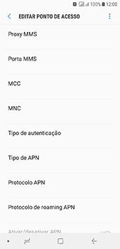 Como configurar a internet do seu aparelho (APN) - Samsung Galaxy J6 - Passo 11