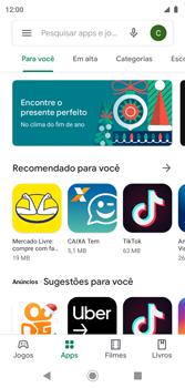 Como baixar aplicativos - Motorola Moto G7 Play - Passo 5