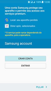 Como configurar pela primeira vez - Samsung Galaxy J7 - Passo 14
